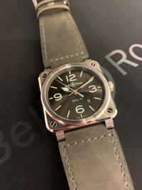 2020年新作 ベル&ロス 03-92 GREY LUM - 熊本 時計の大橋 オフィシャルブログ
