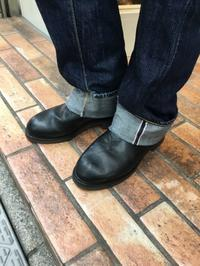 【CHIPPEWA】エンジニアブーツのシャフト、あなたはどう磨く? - Shoe Care & Shoe Order 「FANS.浅草本店」M.Mowbray Shop