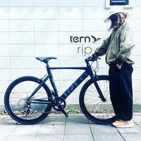 2020 tern ターン 「 rip リップ 」ミニベロ ROJI BIKES クロスバイク 650c おしゃれ クラッチ 自転車 自転車女子 自転車ガール - サイクルショップ『リピト・イシュタール』 スタッフのあれこれそれ