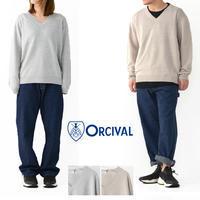 ORCIVAL [オーチバル・オーシバル] LINEN KNIT L/S Vネック [RC-4325] リネン ニット 長袖 Vネックセーター・MEN'S/LADY'S - refalt blog