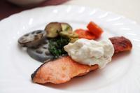 鮭のムニエル - 登志子のキッチン