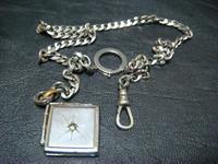 アンティーク懐中時計用鎖 - アンティーク(骨董) テンナイン