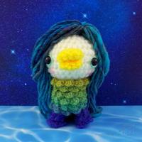あみぐるみ・アマビエさん♪ - Smiling * Photo & Handmade 2 動物のあみぐるみ・レジンアクセサリー・風景写真のポストカード