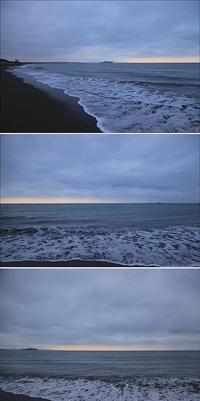 2020/03/14(SAT) 空全体が雲に覆われ肌寒い朝です。 - SURF RESEARCH