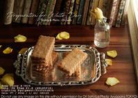 写真映えスイーツで廻せ経済!:伊勢丹三越限定 ヨックモック『バターリッチ クリームサンドクッキー』 profotoA1x + sony α7RIV + SEL85F18 実写 - さいとうおりのお気に入りはカメラで。