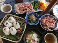 お日さまを受けながらお昼ご飯 - 島暮らしのケセラセラ