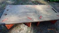 キャンプギアその④◇自作テーブル、ランタンスタンド、ウッドストーブ - -浮世闊歩-