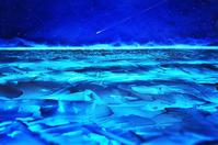 青く凍る湖 -   木村 弘好の「こんな感じかな~」□□□ □□□□ □□ □ブログ□□□
