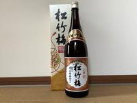 (京都)松竹梅 上撰 蔵付き半兵衛酵母仕込 / Shochikubai Josen - Macと日本酒とGISのブログ