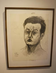 自画像デッサン(A self portrait.) - 栗原永輔ArtBlog.