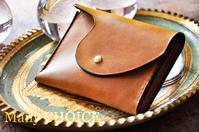 イタリアンヴィンテージバケッタ・ミニマム財布・時を刻む革小物 - 時を刻む革小物 Many CHOICE~ 使い手と共に生きるタンニン鞣しの革