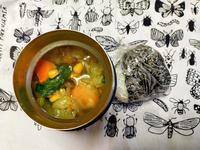 3/18(水)おにぎりとコンソメスープ弁当 - ぬま食堂
