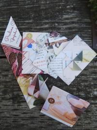 広告用紙でレターセット~春らしい🌸 - Atelier-Gekka ハンドメイドのおはなし