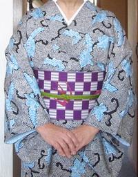 着物のお稽古'20/03/18(半幅帯・新エディター使い方) - 柴犬たぬ吉のお部屋