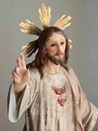 王であるキリスト像 63.5cm /G859 - Glicinia 古道具店