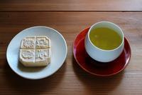 お茶と茶托 - 満足満腹 お茶とごはん2