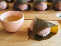 桜餅 - 小麦の時間   京都の自宅にてパン教室を主宰(JHBS認定教室)
