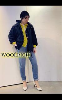 20SS「WOOLRICHウールリッチ」新作ブルゾン「ANORAK アノラック」入荷です。 - UNIQUE SECOND BLOG