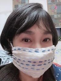 マスク美人ちくちくマスク - にいがた銀花+チクチクちく針仕事の会 niigata ginka+Association of chiku-chiku needle work