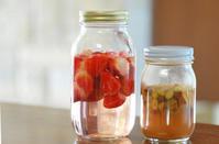 3/20苺酵母とレーズン&りんご酵母 - 「あなたに似た花。」