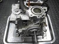 ジャイロのエンジン - バイクの横輪