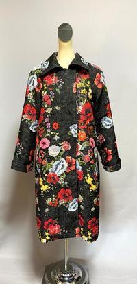 ジャガードのコート - 私のドレスメイキング