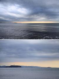 2020/03/23(MON) 鈍より曇り空の海辺です。 - SURF RESEARCH