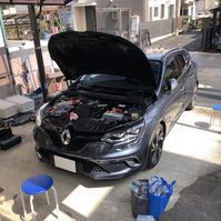 メガーヌ4GT 1.6ターボ EDC アーシング施工 - 「ワッキーの自動車実験教室」 ワッキー@日記でごじゃる