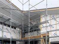 須坂の曲り家の軒天 - 安曇野建築日誌