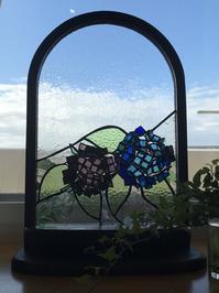 紫陽花 - Glass in