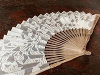 紀波さんの扇子 - 布とお茶を巡る旅