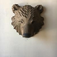 木彫り熊熊マスク - アンティークショップ 506070mansion 札幌 買取もやってます!