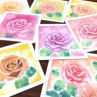 バラの花を何度も試作しています - デザインのアトリエ絵くぼ