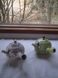 急須でお茶を - ギャラリーファブリル