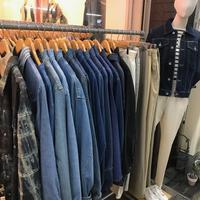 店内写真! - 「NoT kyomachi」はレディース専門のアメリカ古着の店です。アメリカで直接買い付けたvintage 古着やレギュラー古着、Antique、コーディネート等を紹介していきます。