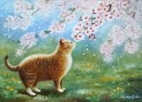 今日は「桜の日」 - 油絵画家、永月水人のArt Life