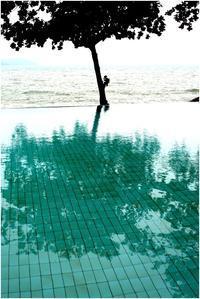 プールと海 - HIGEMASA's Moody Photo