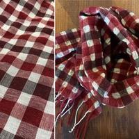 ウールと絹の組み合わせ - スコットランドチェック