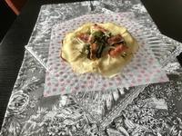 『春野菜のタルトフランベ』や色々なパン - カフェ気分なパン教室  *・゜゚・*ローズのマリ