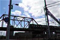 藤田八束の鉄道写真@今津線の阪急電車、ここは西宮市東海道本線と阪急電車が立体交差します。・・・・阪急電車写真 - 藤田八束の日記