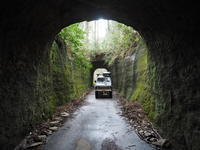 2020.03.04 月崎トンネル - ジムニーとハイゼット(ピカソ、カプチーノ、A4とスカルペル)で旅に出よう