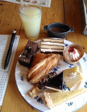 デザートバイキング 2020/3ファームレストラン ハーベスト(長沼) -