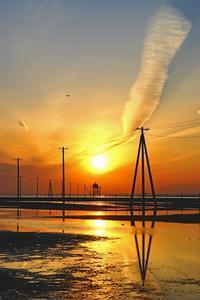 ダイヤ富士2020-04-04更新 - 夕陽に魅せられて・・・