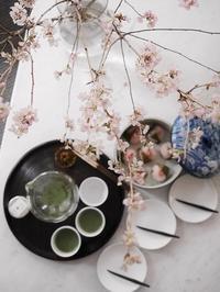 桜餅でお籠り花見 - ただいまお料理中
