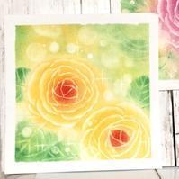今日も薔薇を描きました - アトリエ絵くぼの創作日誌