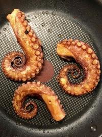 蛸タコ🐙 ミラノとベルリンで。 - べルリンでさーて何を食おうかな?