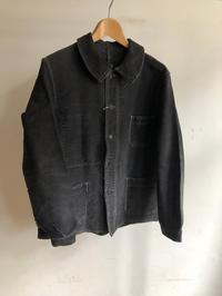 Later40's Black Moleskin Coverall, 30's Black Cotton Twill Farmers Trousers - DIGUPPER BLOG
