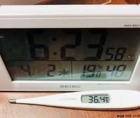 体温チェック - 金沢市 床屋/理容室「ヘアーカット ノハラ ブログ」 〜メンズカットはオシャレな当店で〜