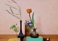 【春のお花を一輪挿しに】 - Bouquets_ryoko