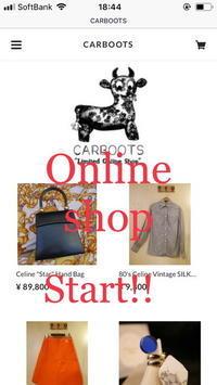 Online shop OPEN! - carboots